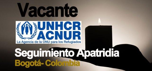 Convocatoría del ACNUR en temas de apatridia – nacionalidad
