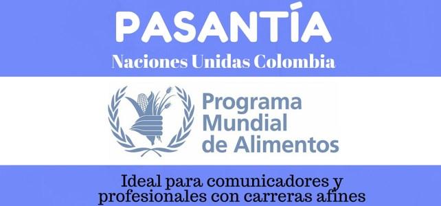 Pasantía en Colombia para comunicadores con el Programa Mundial de Alimentos