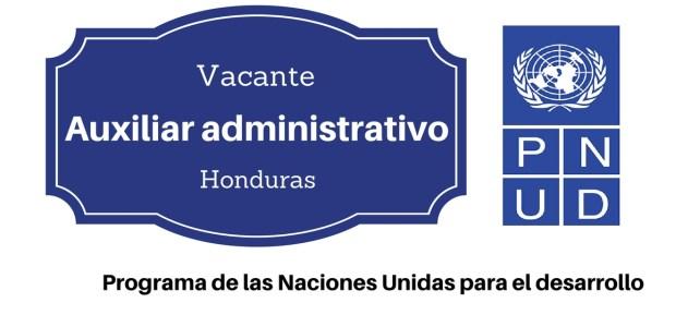 Vacante auxiliar administrativo