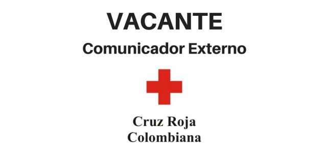 Vacante como comunicador en la Cruz Roja Colombiana
