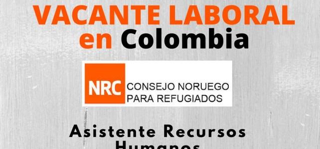 El Consejo Noruego para Refugiados abre convocatoria laboral en Colombia