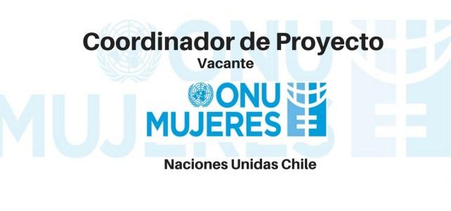 Convocatoria de ONU Mujeres para Coordinación de Proyecto