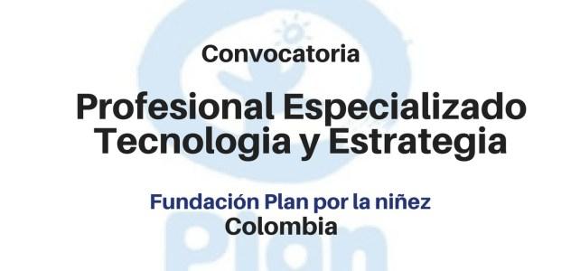 Profesional Especializado Tecnología y Estrategia con PLAN