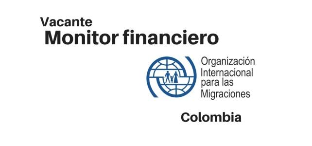 Vacante monitor financiero con la OIM