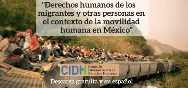 """""""Derechos humanos de los migrantes y otras personas en el contexto de la movilidad humana en México"""""""