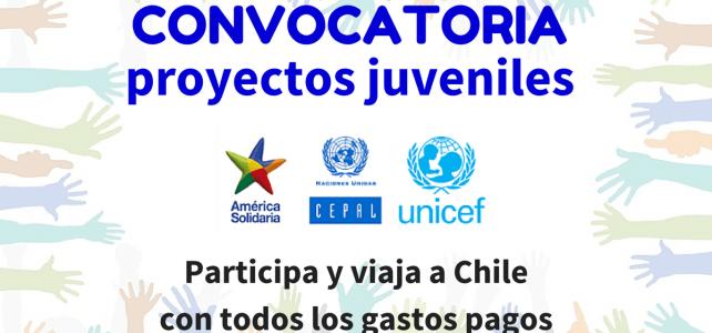 Convocatoria de UNICEF para proyectos Juveniles