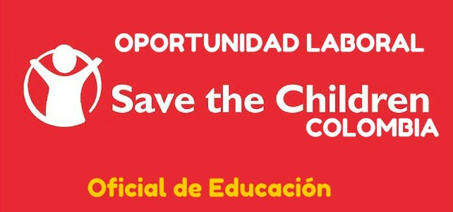 Save the Children abre convocatoria laboral en Colombia