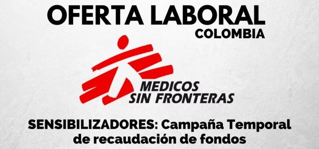 Oferta laboral con Médicos sin Fronteras – Requisito: Muchas ganas de trabajar