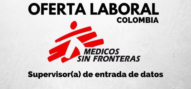 Se abre convocatoria laboral con Médicos sin Fronteras en Colombia