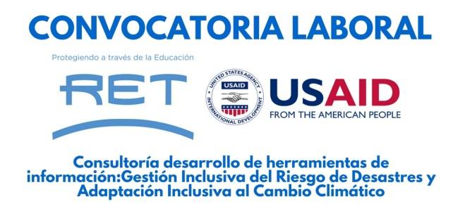 Se abre convocatoria laboral con RET y USAID en Panamá