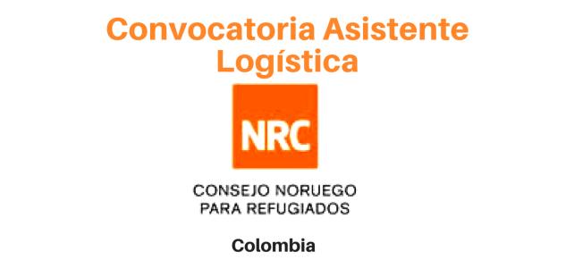 Convocatoria Asistente Logística Tumaco  – NRC