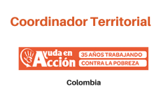 Vacante Organización Ayuda en Acción: Coordinador Territorial