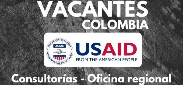 El Programa de Tierras y Desarrollo Rural de USAID abre oferta laboral en Colombia