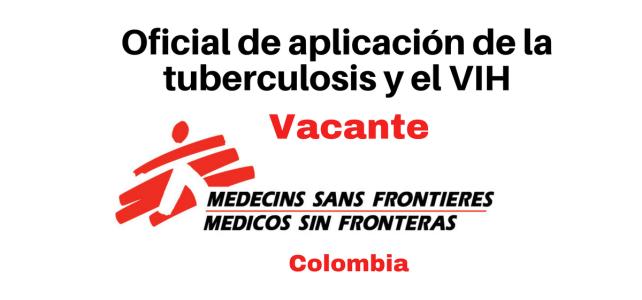 Convocatoria Oficial en salud TBC y VIH con MSF