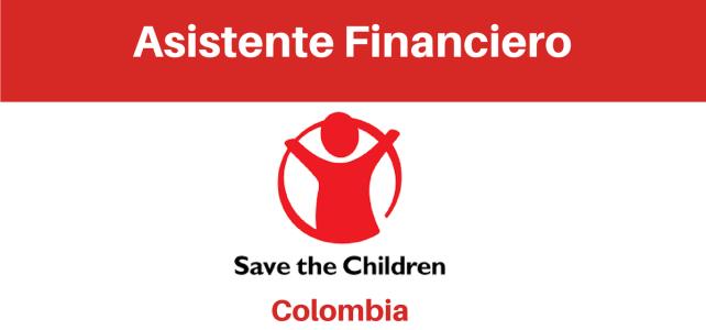 Convocatoria Asistente financiero con Save the Children