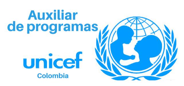 Convocatoria Auxiliar de programas (UNICEF)