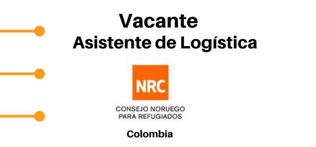 Convocatoria Asistente de logística NRC