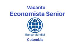 Vacante Economista con el  Banco Mundial