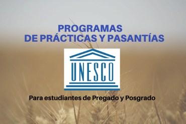 PASANTIAS UNESCO