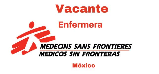 Vacante Enfermera con MSF