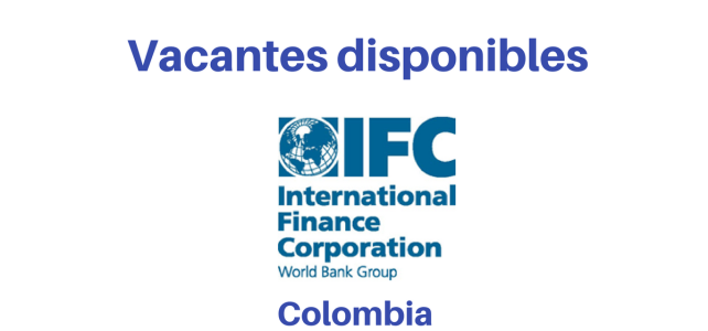 Vacante diferentes cargos IFC