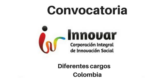 Convocatoria diferentes cargos con Innovar