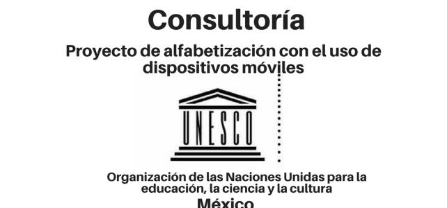 Consultoría al Proyecto de Alfabetización con la UNESCO