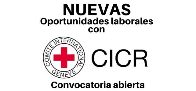 Nuevas oportunidades laborales con el CICR en Colombia