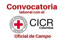 CICR en Colombia abre convocatoria laboral