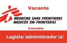 Vacante logista/ administrador(a) MSF