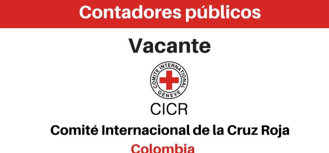 Vacante contadores públicos CICR