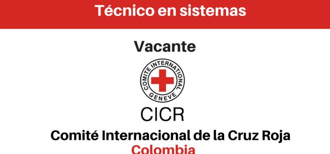 Vacante para técnico en sistemas CICR