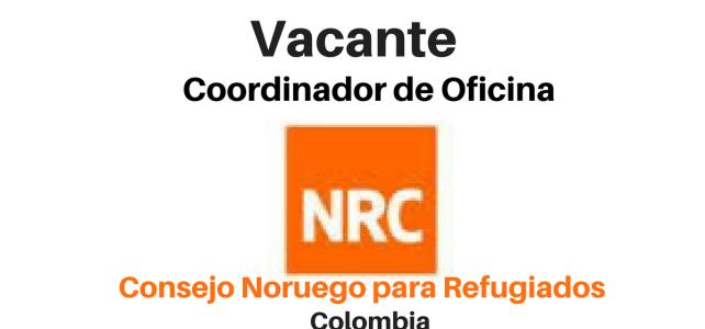 Vacante Oficial de educación NRC