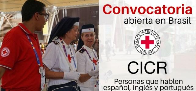 Convocatoria abierta en Brasil para trabajar con el CICR