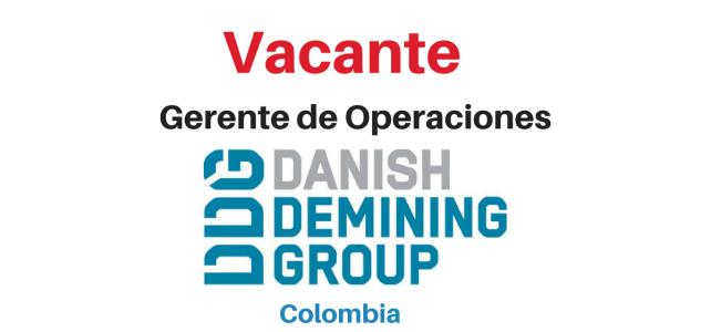 Vacante Gerente de Operaciones Danish Demining Group