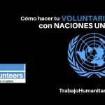Voluntariado Naciones Unidas