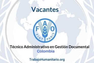 Vacantes FAO Colombia