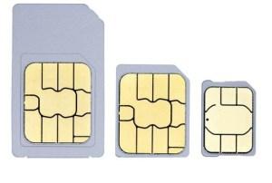 Tipos de SIMs