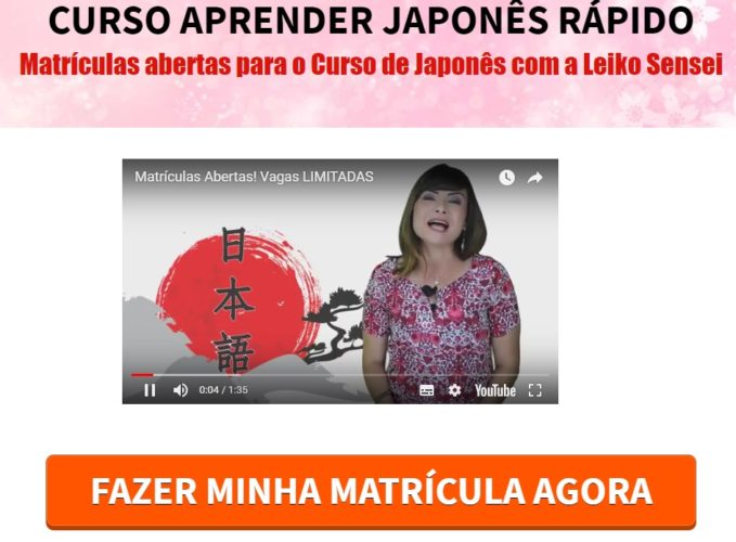 Curso Aprender Japones Rapido