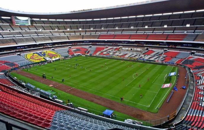 maiores estádios do mundo - estádio Azteca