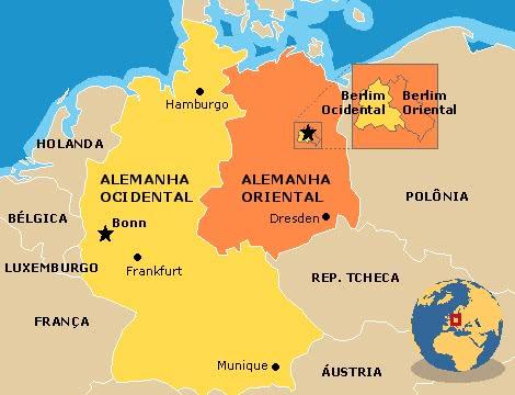 mapa alemanha → Mapa da Alemanha: Conheça Todas as Regiões da Alemanha mapa alemanha