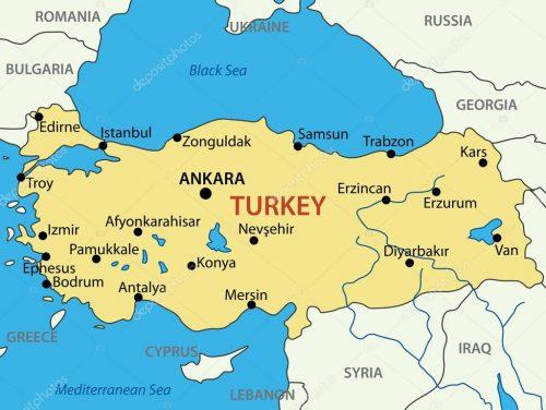 turquia mapa → Mapa da Turquia: Conheça Todas as Regiões da Turquia turquia mapa
