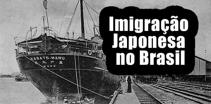 Resultado de imagem para Imigração Japonesa no Brasil