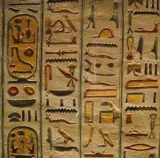 Escrita do Egito Antigo