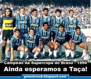 Grêmio sequer recebeu uma taça, o que gera mais questionamentos sobre a validade do título