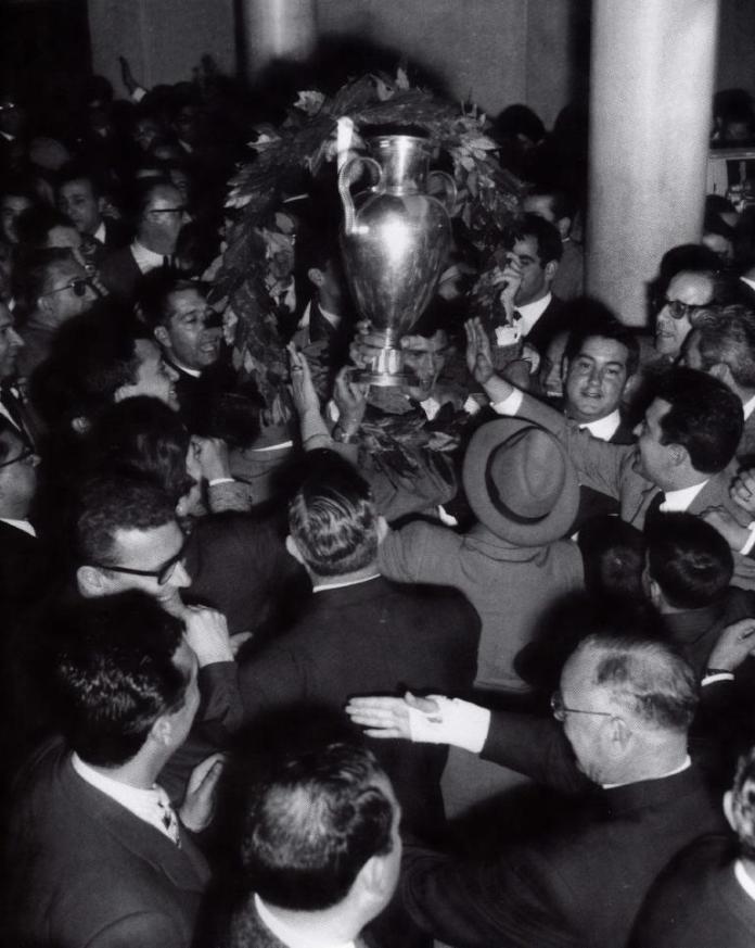 Taça Campeões Europeu - chegada a Lisboa