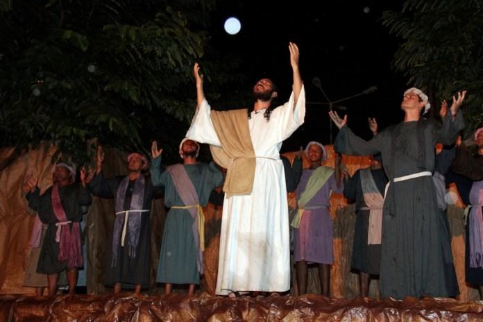 Espetáculo da Paixão de Cristo em Barcarena (Foto: Fábio Costa/ Ag. Pará/ Fotos Públicas)