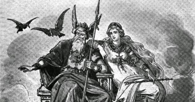 Mitologia Nórdica Odin Frigga