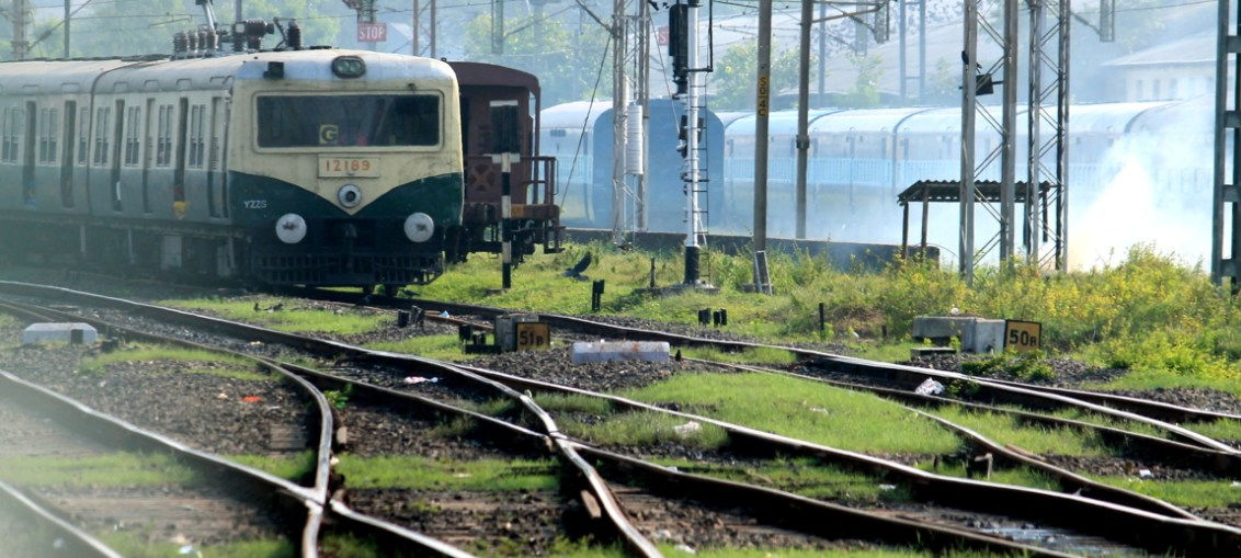 indian railway, train, rails, photography