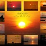 2015 Golden Hour calendar
